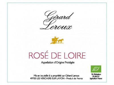 Rosé de Loire (sec) 2017   C'est un vin friand et désaltérant. On le boit jeune et il est recommandé avec les entrées et les charcuteries. Il est très apprécié également tout au long des repas d'été.
